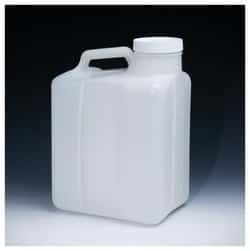 Nalgene™ Heavy-Duty Wide-Mouth HDPE Jug with Closure