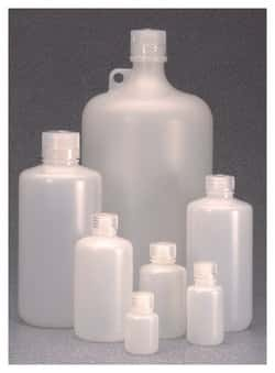 Nalgene™ Narrow-Mouth HDPE IP2 Bottles with Closure: Bulk Pack