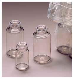 Nalgene™ PETG Serum Vials; with Crimp Finish: Sterile, Shrink-Wrapped Modules