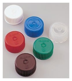 Nalgene™ Colored Polypropylene Closures with 24-415 Finish