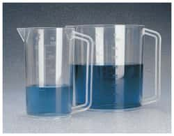 Nalgene™ PMP Graduated Plastic Beakers with Handles