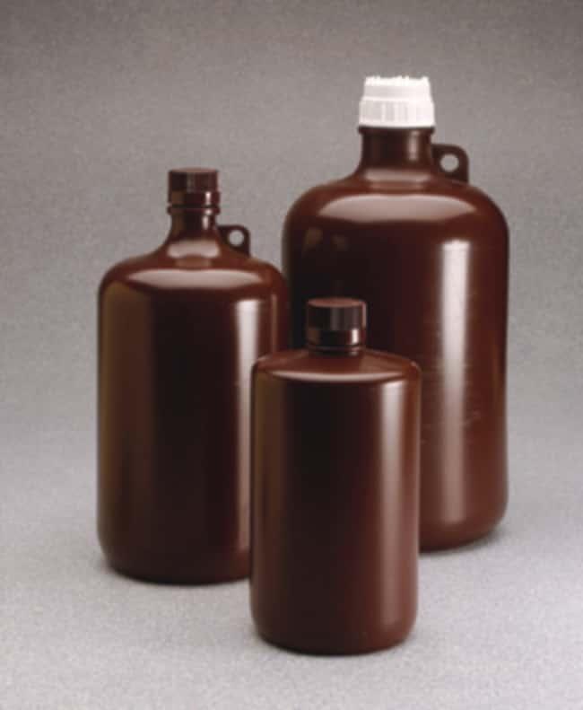 Nalgene™ Large Narrow-Mouth Amber Bottles