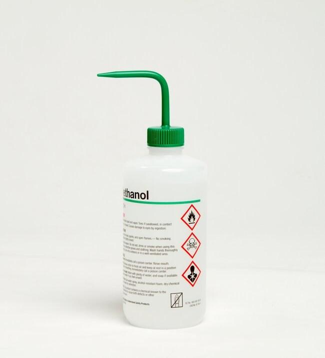 Nalgene Right To Understand Safety Wash Bottles Featuring