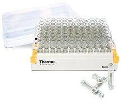 Matrix™ 2D Barcoded Glass Storage Tubes, Matrix 1.0 mL, 2D barcoded, glass, 5 Latch Racks of 96 tubes/case