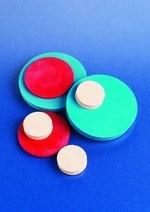Sterilin™ Silicone Rubber Discs