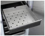 Complete Stainless Steel Rollout Drawer Set