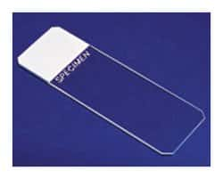 Superfrost™ Plain and Frosted Clipped Corner Microscope Slides