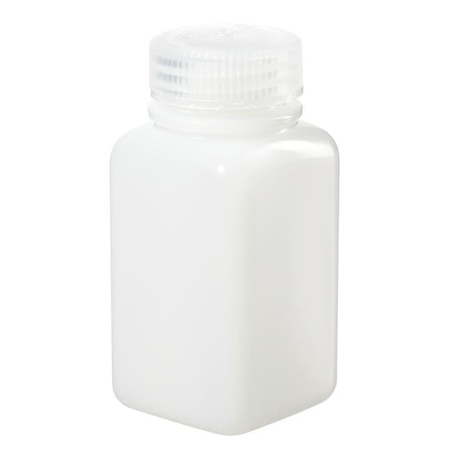 Case of 24 Nalgene 2015-1000 Polycarbonate Narrow Mouth Square Bottle with Polypropylene Screw Type Closure 1000ml Capacity