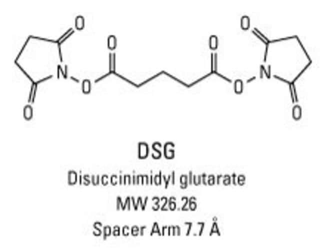 Chemical structure of DSG crosslinking reagent