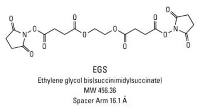 Chemical structure of EGS crosslinking reagent