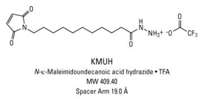 Chemical structure of KMUH crosslinking reagent
