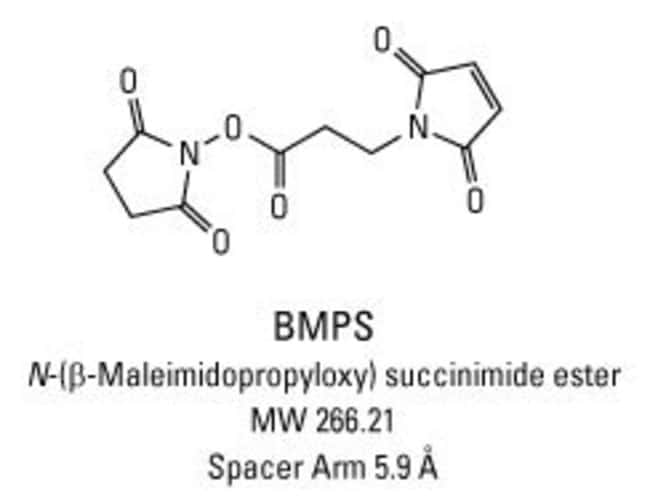 Chemical structure of BMPS crosslinking reagent