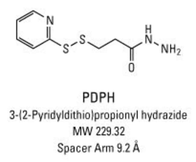 Chemical structure of PDPH crosslinking reagent