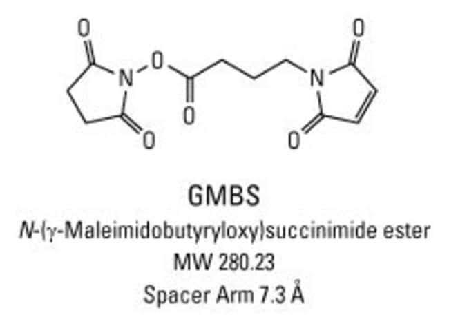 Chemical structure of GMBS crosslinking reagent