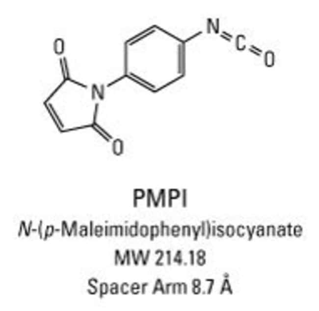 Chemical structure of PMPI crosslinking reagent