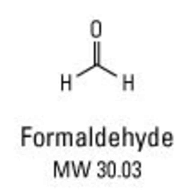 Why formaldehyde?