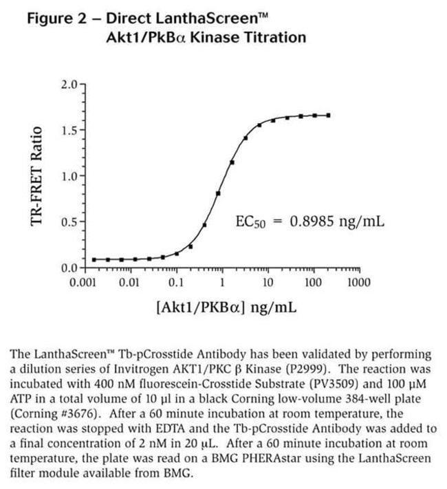 Figure 1 - Titration Tb-pCrosstide Antibody