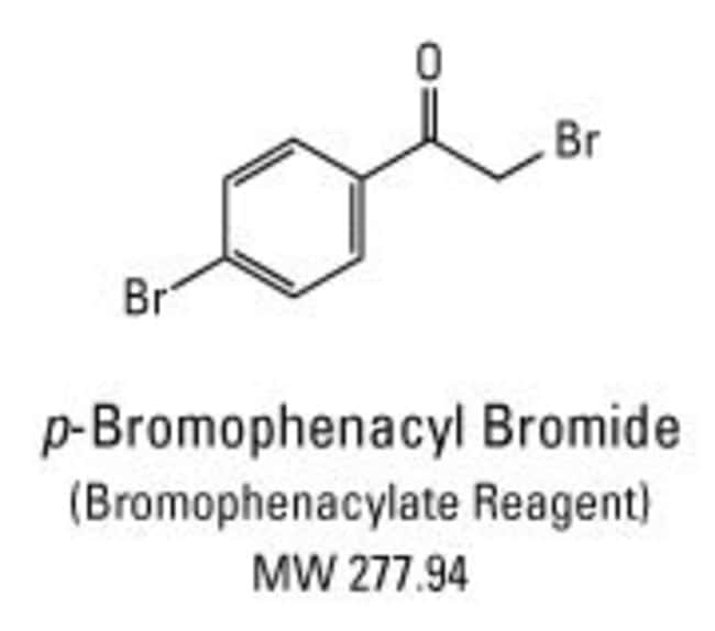 The acetonitrile reagent solution of this chemical is also known as p-bromophenacylate reagent or p-bromophenacyl-8 reagent.