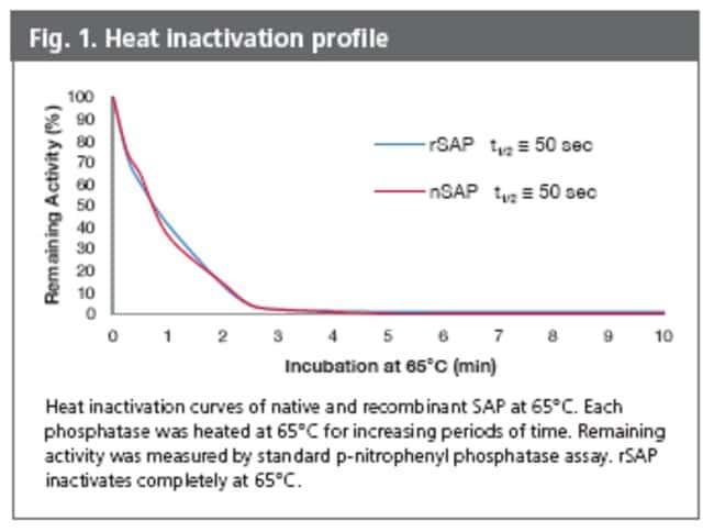 Fig. 1, Heat Inactivation Profile