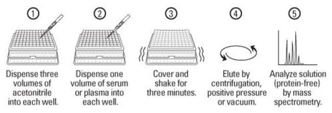 Protein Precipitation Plate protocol summary