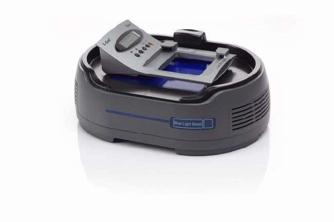 The E-Gel® Imager Blue Light Base with the E-Gel® iBase.