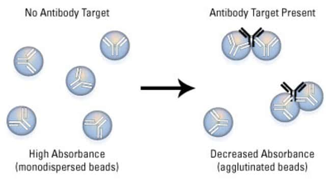 Microsphere agglutination assay