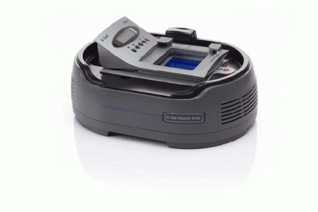 The E-Gel® Imager Adaptor Base with the E-Gel® iBase/Safe Imager Power System.