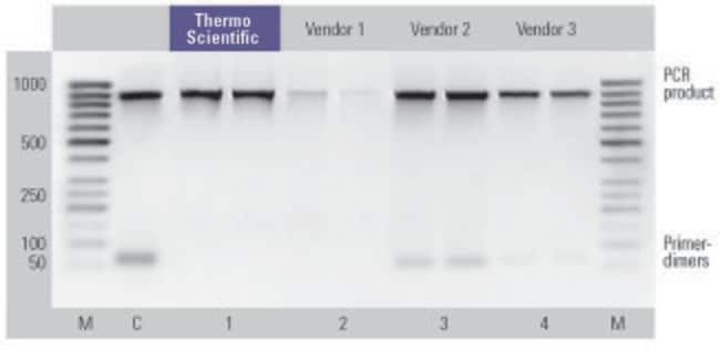 Efficient primer dimer removal from PCR mixtures