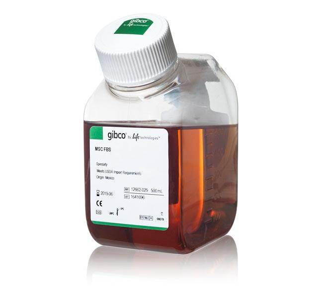 Fetal Bovine Serum, mesenchymal stem cell-qualified, USDA-approved regions