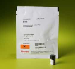 SIAB (succinimidyl (4-iodoacetyl)aminobenzoate)