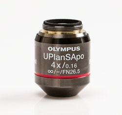 Olympus 4X Objective, super-apochromat, LWD