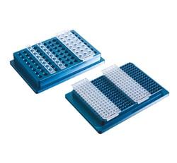 Aluminium Support, tube/plate rack, 384-well