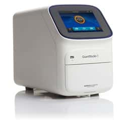QuantStudio™ 3 Real-Time PCR System, 96-well, 0.2 mL, laptop