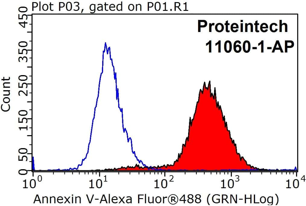 Annexin V Antibody in Flow Cytometry (Flow)