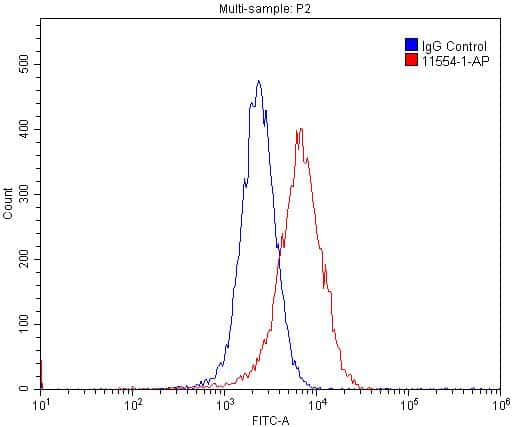 Cyclin E1 Antibody in Flow Cytometry (Flow)