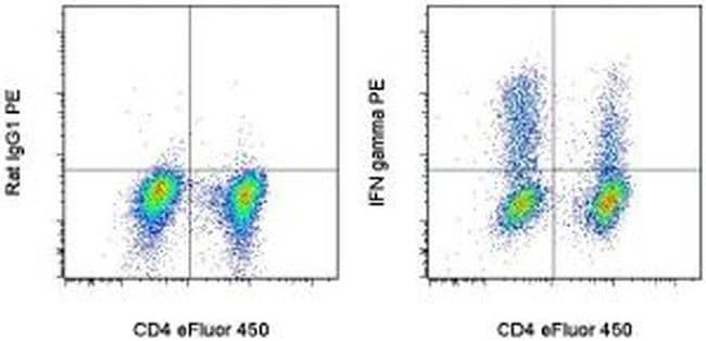 IFN gamma Antibody in Flow Cytometry (Flow)