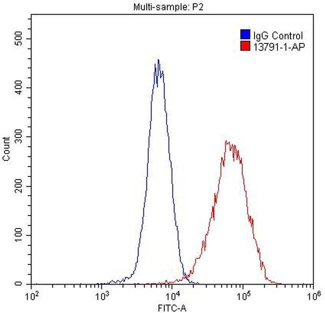 Spartin/SPG20 Antibody in Flow Cytometry (Flow)