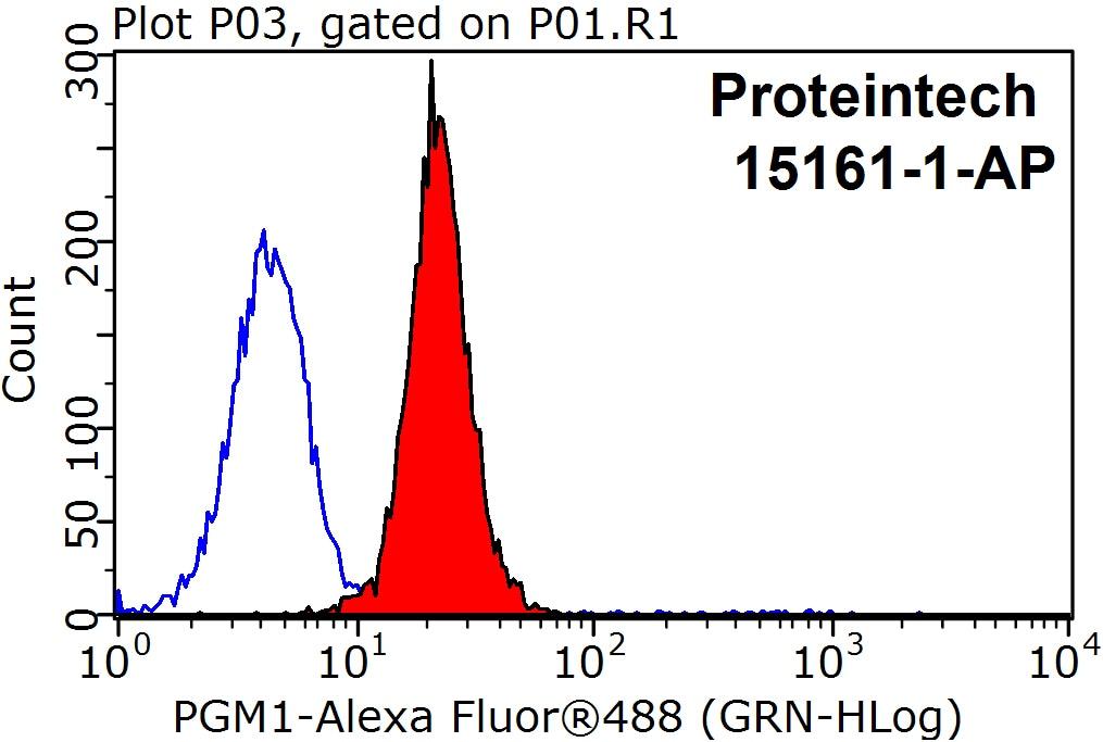 PGM1 Antibody in Flow Cytometry (Flow)