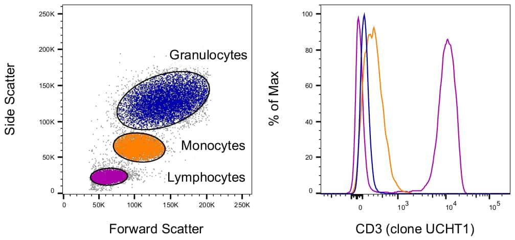 CD3 Antibody in Relative expression
