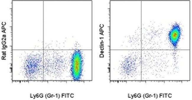 CD369 (Clec7a, Dectin-1) Antibody in Flow Cytometry (Flow)