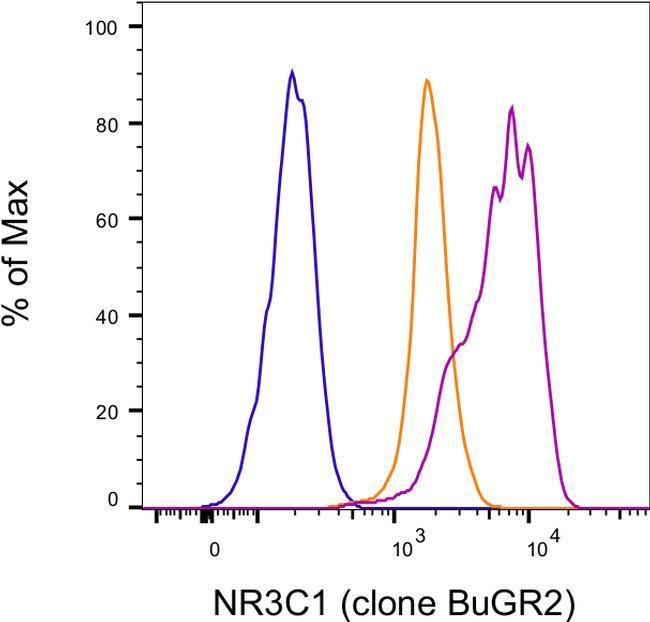 Glucocorticoid receptor (NR3C1) Antibody in Relative expression