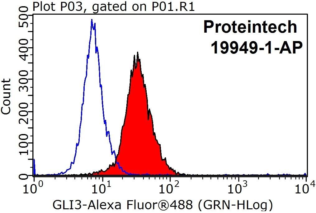 GLI3 Antibody in Flow Cytometry (Flow)