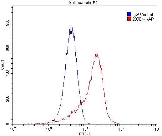 CLEC14A Antibody in Flow Cytometry (Flow)