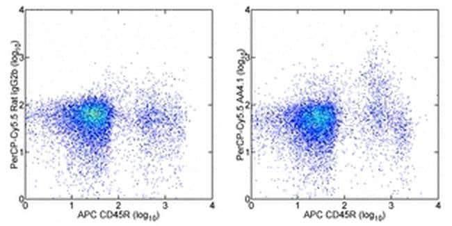 CD93 (AA4.1) Antibody in Flow Cytometry (Flow)