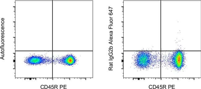 Rat IgG2b kappa Isotype Control in Flow Cytometry (Flow)