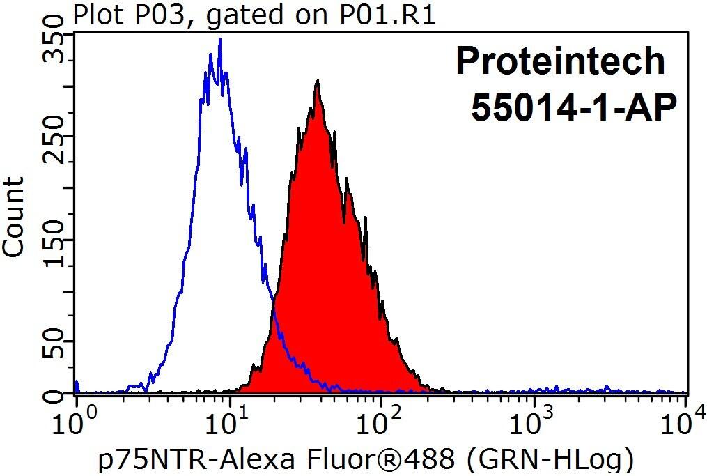 p75NTR Antibody in Flow Cytometry (Flow)
