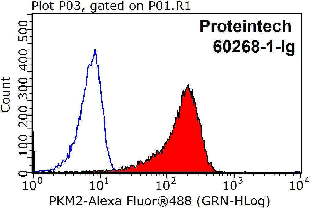 PKM2 Antibody in Flow Cytometry (Flow)