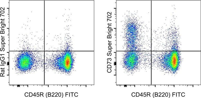 CD73 Antibody in Flow Cytometry (Flow)