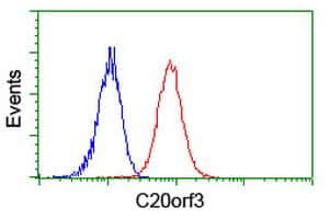 C20orf3 Antibody in Flow Cytometry (Flow)