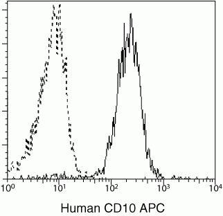 CD10 Antibody in Flow Cytometry (Flow)